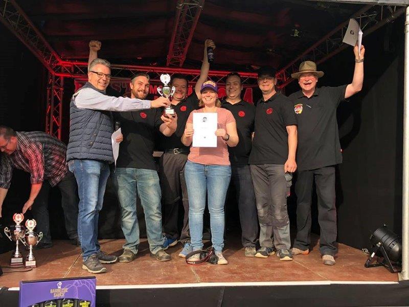 Platz 3 Aartal BBQ Crew